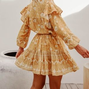 Bohemian Folk Skirt